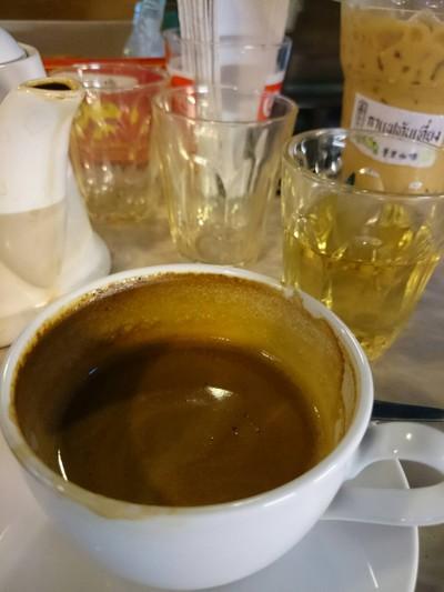 กาแฟทับเที่ยงร้อน