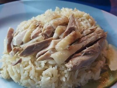 ข้าวมันไก่ท่าพระ ลิ่มซัง แยกท่าพระ