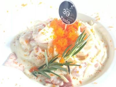Carbonara Pasta : ดูน่าทานดีไม้น้อยจ๊ะ