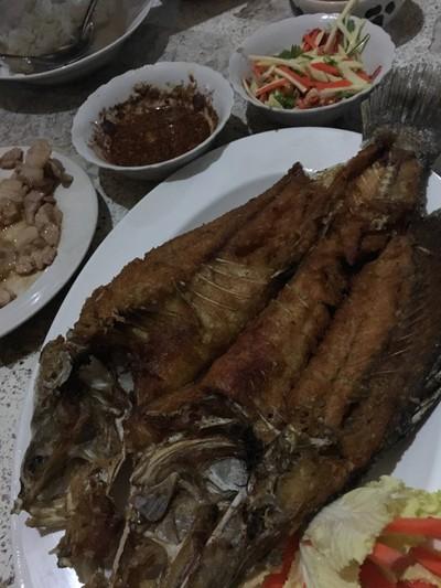 ปลาทอด
