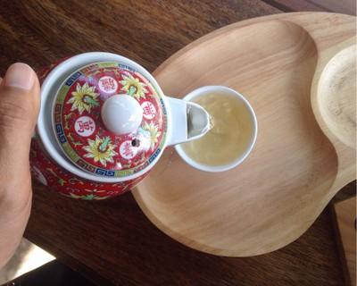 ชาในเซ็ตกาแฟ