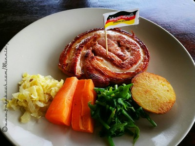 Grilled German Roll