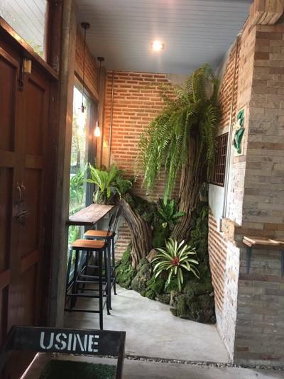 Tree coffee house