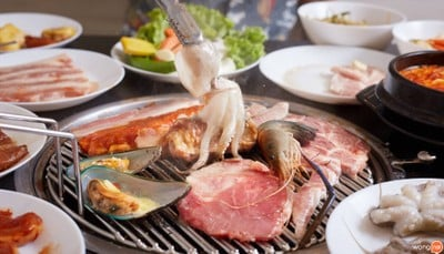 NAMSAN GRILL Korean BBQ & Buffet (นัมซาน กริลล์) The One Pattaya