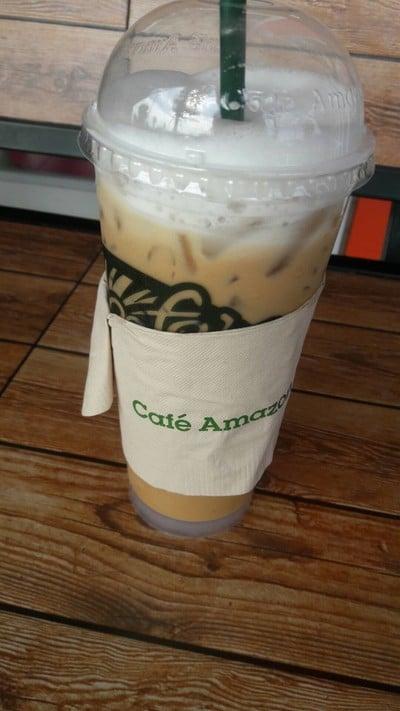 Cafe Amazon PTT ชุมแพ