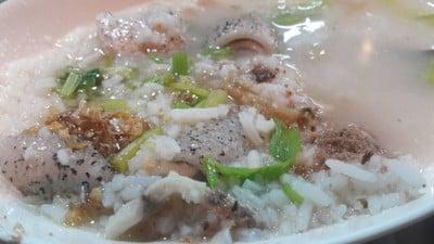 ข้าวต้มปลา +หนังปลา 60