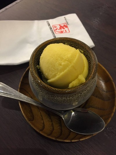 ไอศกรีมเชอเบทมะม่วง##1