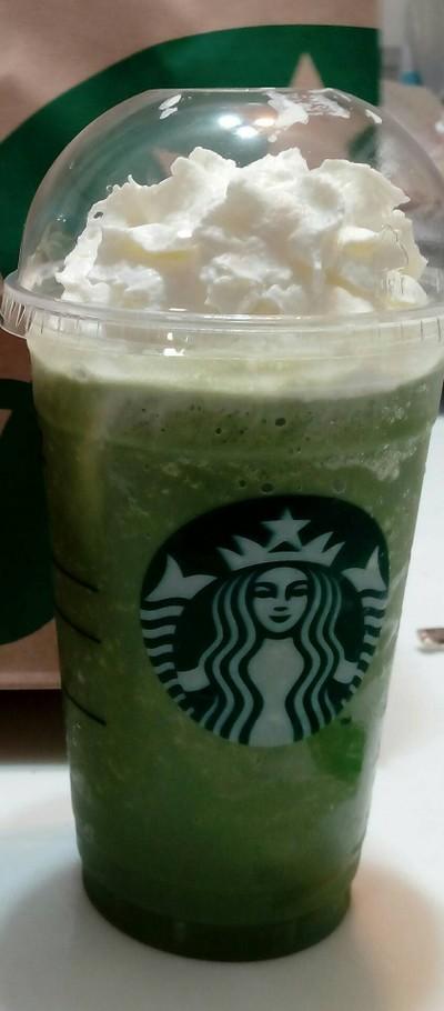 Green Tea Frappuccino##1