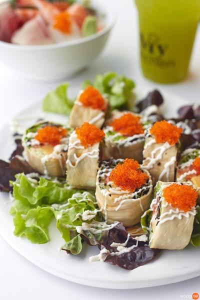 Yuba Salad Maki