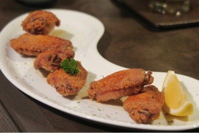 Deep fried Chicken with Japanese Style Soy Sauce