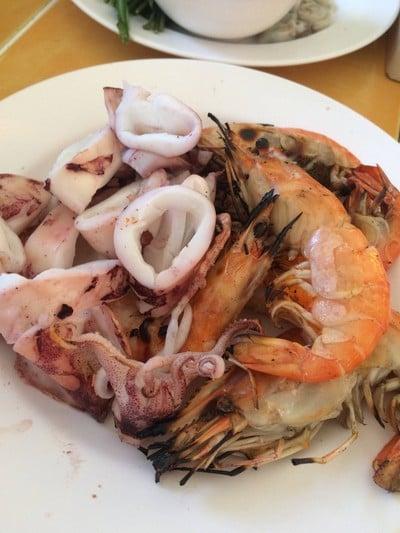 อาหารทะเลปิ้ง