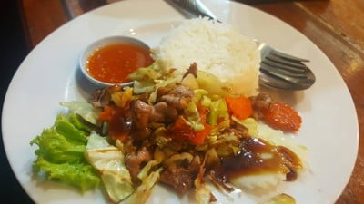 ข้าวหมูเกาหลี