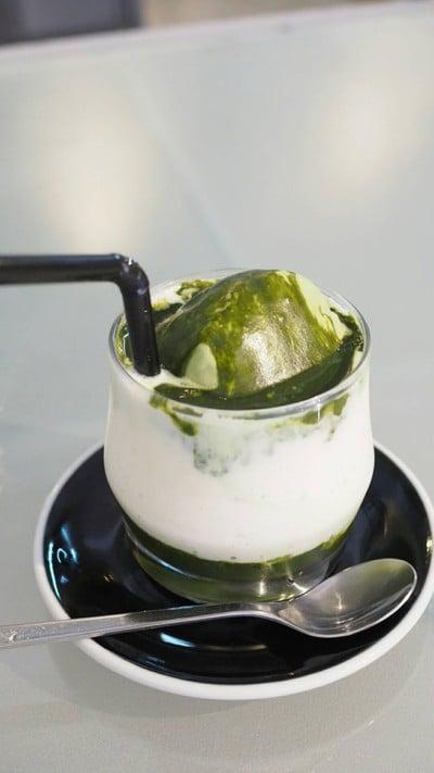 Matcha Smoothie Ice cream