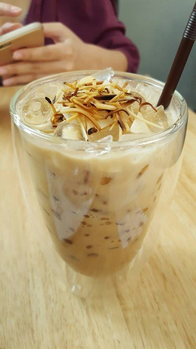 Iced Coconut Latte##1