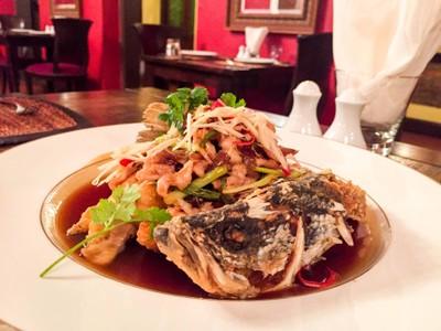 Praya Dining (พระยา ไดนิ่ง) โรงแรม พระยาพาลาซโซ