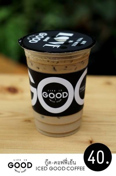 life is GOOD,coffee stand วรจักร