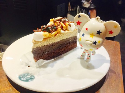 S'mores Brownie Pudding Cake @ Starbucks Central World f1