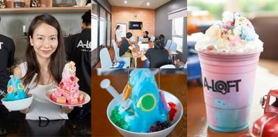 นั่งสบายสไตล์ลอฟท์ เครื่องดื่มสุดชิค มุมอ่านสุดแนว ที่ A-Loft Cafe'