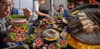 ปิ้งย่างรสชาติเกาหลีแท้ๆ! สุดฟินกระบังลมหมู ผักเคียงไม่อั้น @ ทงคึนกุย