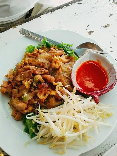 บ้านใกล้วัง หัวหิน Baan Khrai Wang 露天海邊甜點餐廳 (Bann Gliwang)