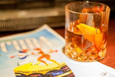 Rum Old-Fashioned