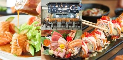 วัตถุดิบสดซิง ตัวจริงเรื่องซูชิ Sushi Mega ร้านอาหารญี่ปุ่น ณ ศรีราชา