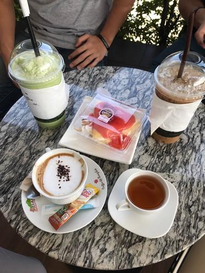Inthanin Coffee7576 ปั๊มบางจาก อ้อมใหญ่