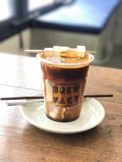 กาแฟผสมมพร้าวในหลายรูปแบบ