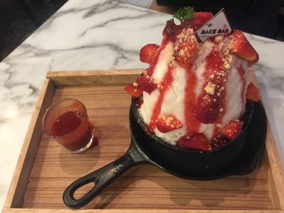 Strawberry Kakigori