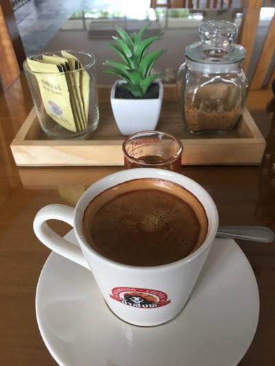 ร้านกาแฟถ้ำสิงห์ ณ จุดชมวิวเขามัทรี : Thamsing Cafe' (กาแฟถ้ำสิงห์) เขามัทรี