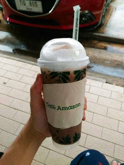 DD443 - Café Amazon (คาเฟ่อเมซอน สี่แยกเอเชียพัทลุง) ปตท.สี่แยกเอเซีย พัทลุง