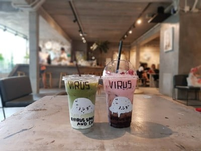 Virus Space and Cafe Seenspace HuaHin