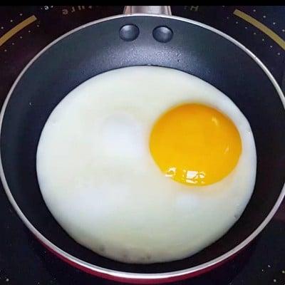 วิธีทำ ไข่กระทะ
