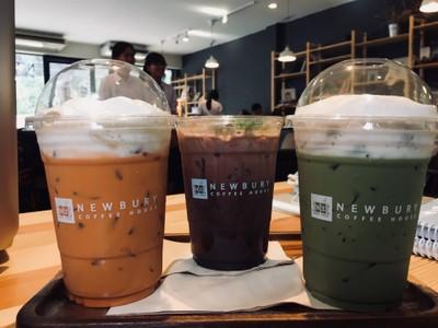 Green Tea Latte, Thai Tea, Mint Cocoa