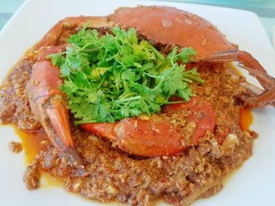 Singapore Chili Crab(Mud Crab)