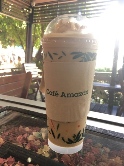 Cafe Amazon   ปตท. วิเชียนบุรี
