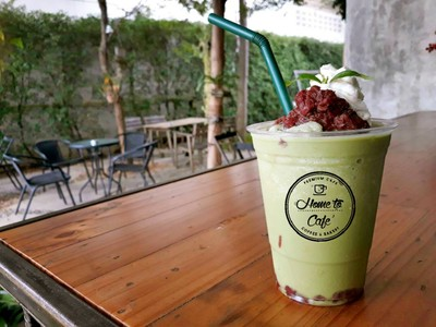 Matcha Red Bean Frappe'