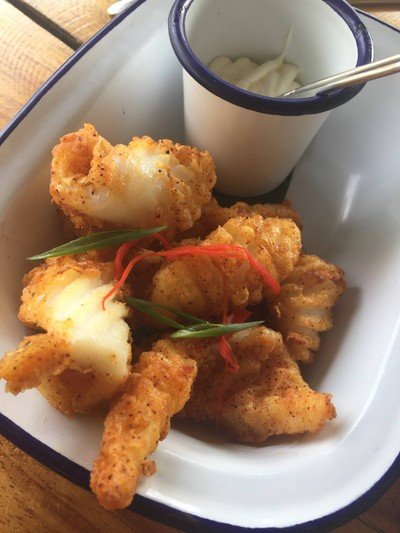 Chilli-fried Squid