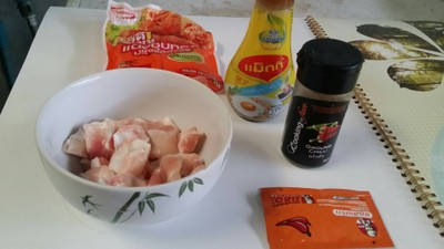 วิธีทำ ไก่ทอดกรอบซอสพริก
