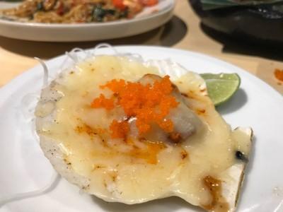 หอยเชลล์อบชีส