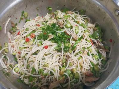 วิธีทำ ยำขนมจีน ปลาทู