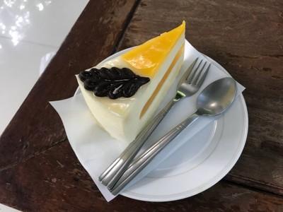 Mango passion cake