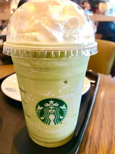 Green Tea Frappuccino