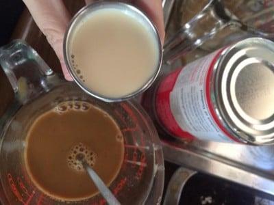 วิธีทำ ชาเนสทีนมสดเย็น