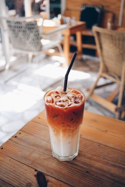 Red Tea Latte
