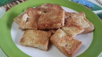 วิธีทำ ขนมปังโฮลวีทชุบไข่ทอด