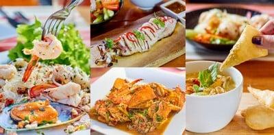 อาหารไทยต้นตำรับส่งตรงมาจากทะเลแบบสด ๆ @Red Coral Restaurant