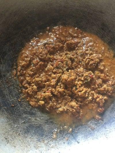 น้ำพริกหมูโคราช (น้ำพริกร้อน)