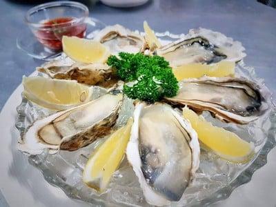 หอยนางรมฟินเดอ์แค จากฝรั่งเศส