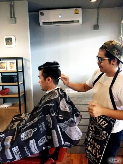 gangster barber shop
